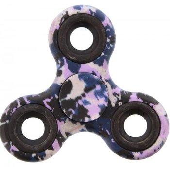 Fidget Spinner Special Design camouflage blauw-paars