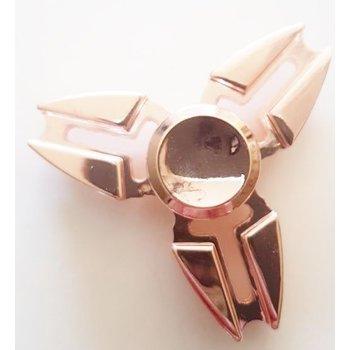 Fidget Spinner Luxe metaal rosé goud