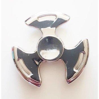Fidget Spinner Luxe metaal zilver 2