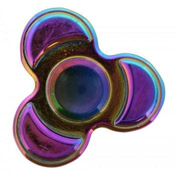 Fidget Spinner Luxe metaal Rainbow Flower