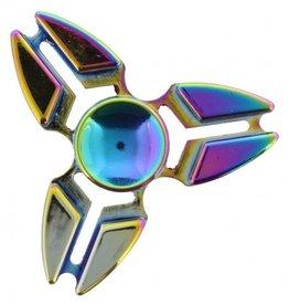 Fidget Spinner Luxe metaal Rainbow 11