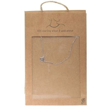 Ketting 925 zilver Tiny Peace