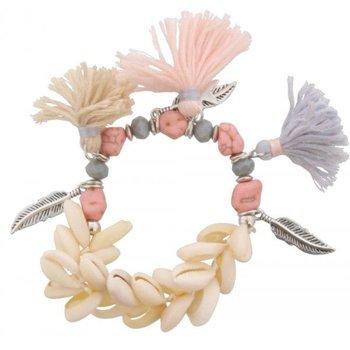 Armband Ibiza Shells & Tassels