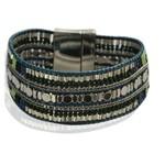 Armband exclusief Ibiza petrol Beads