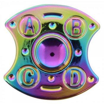 Fidget Spinner Luxe metaal Rainbow Shield