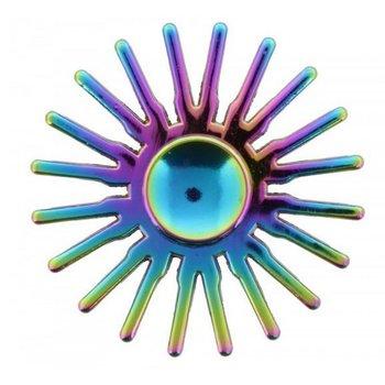 Fidget Spinner Luxe metaal Rainbow Sun