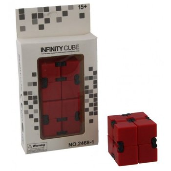 Fidget Infinity Cube red