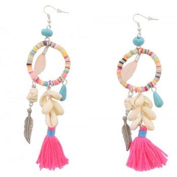 Oorbellen Ibiza multi-Beads & Shells