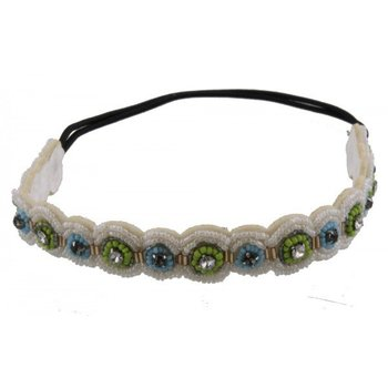 Haarband BOHO Pretty Beads 3