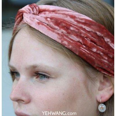Yehwang Haarband Sweet Velvet zwart