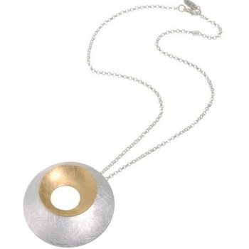 Behave Ketting Round Design mat-zilver-goud