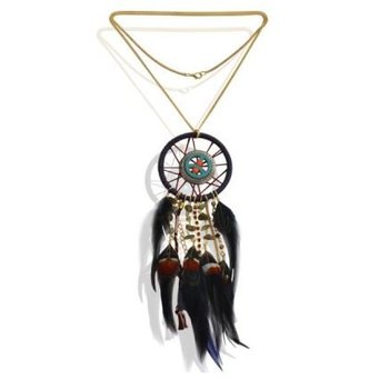 Ketting lang Dreamcatcher peace