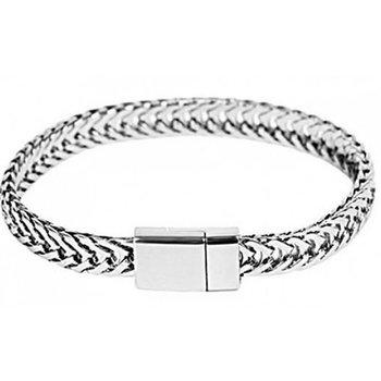 Armband schakels magneetslot zilver 2
