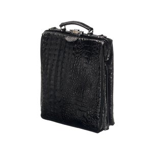 On The Bag - Zwart Croco