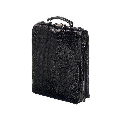 On The Bag - Zwart Croco