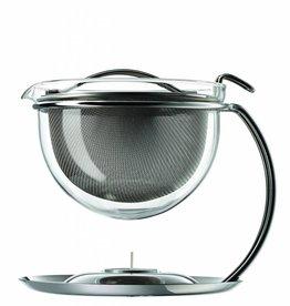 mono - filio, Teekanne 0,6l mit integriertem Stövchen