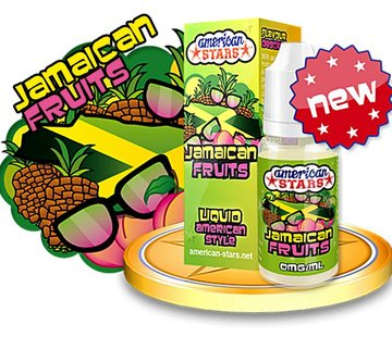 American Stars e liquid Jamaican Fruits