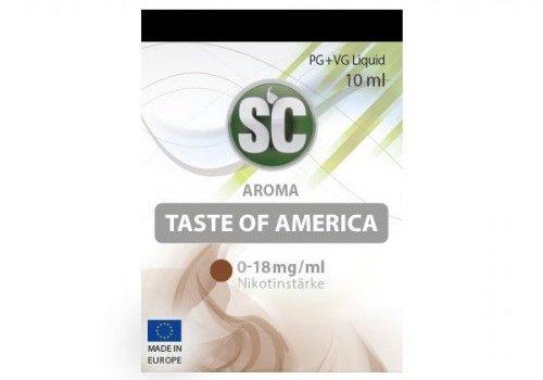 SILVER CONCEPT SC Liquid Taste of America Tobacco