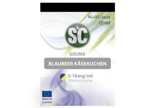 SILVER CONCEPT SC Liquid Blaubeer Käsekuchen