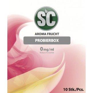 SILVER CONCEPT FRUIT PROBIERBOX e zigaretten E-LIQUID