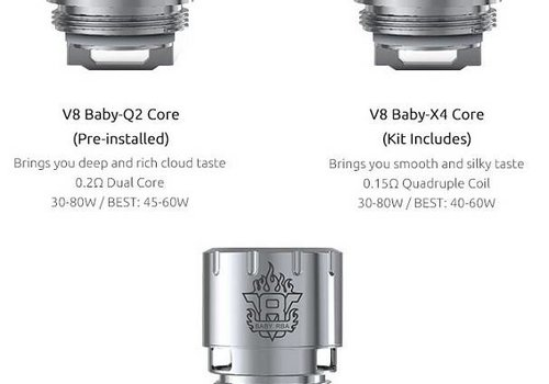 SMOK SMOK TFV8 Baby Turbo Engines Replacement Coils