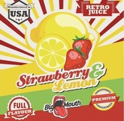 Big Mouth Strawberry & Lemon Retro Juice Aroma
