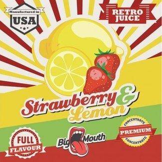 Big Mouth Strawberry & Lemon Retro Juice Aroma