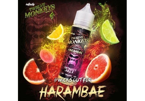 Twelve Monkeys Vapor Co. Harambae (50ml) E-Liquid by Twelve Monkeys