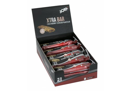 BORN Xtra Bar Cranberry Cocos