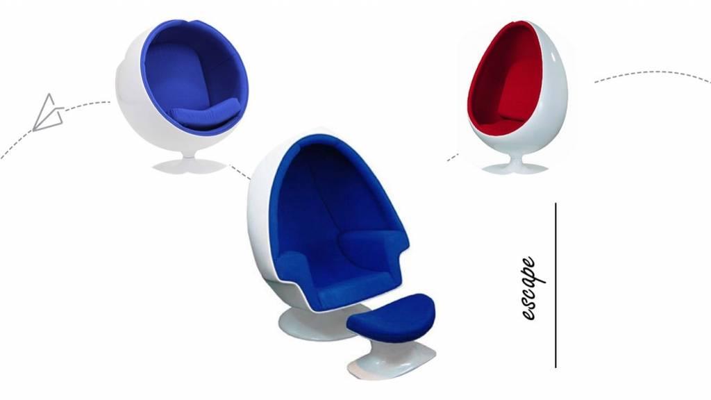 Egg Chair - die ultimative Wirklichkeitsflucht