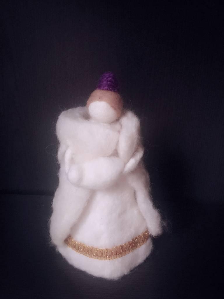 Filz Krippenfiguren Maria Josef