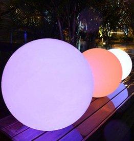 LED Beleuchtung Kugel 50cm, kabellos mit Farbwechsel, Fernbedienung, Akku