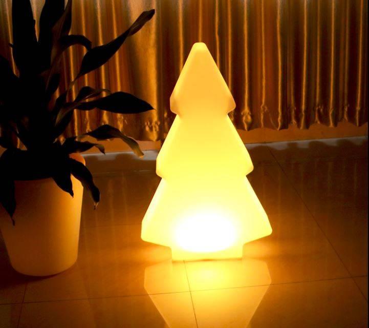 led tannenbaum kabellose beleuchtung figuren mit farbwechsel decor of world. Black Bedroom Furniture Sets. Home Design Ideas