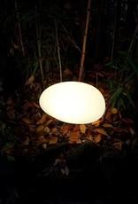 LED Stein Beleuchtung, kabellos mit Farbwechsel, Fernbedienung, Akku, 40 cm x 32 cm x 22 cm