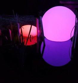 LED Set Kugel + Oval, kabellos mit Farbwechsel