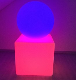 LED Set Kugel + Würfel, kabellos mit Farbwechsel