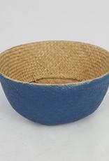 Decor Of World Hübscher Seegras-Korb in natur/blau