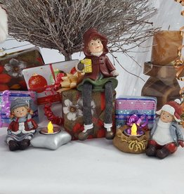 "Decor Of World Miniaturfiguren Set ""Drei Winterkinder"""