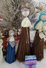 Decor Of World Heilige Familie 4er Set aus Kokosfaser