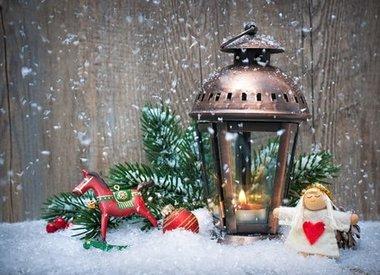Winter-, Weihnachtsdeko