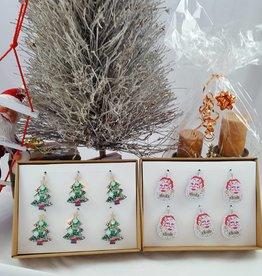 Decor Of World Lichterkette 2-er Set Weihnachtsmann + Tannenbaum