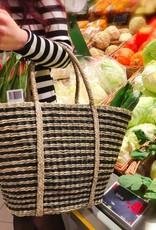 Decor Of World Tasche  aus Seegras, natur/schwarz