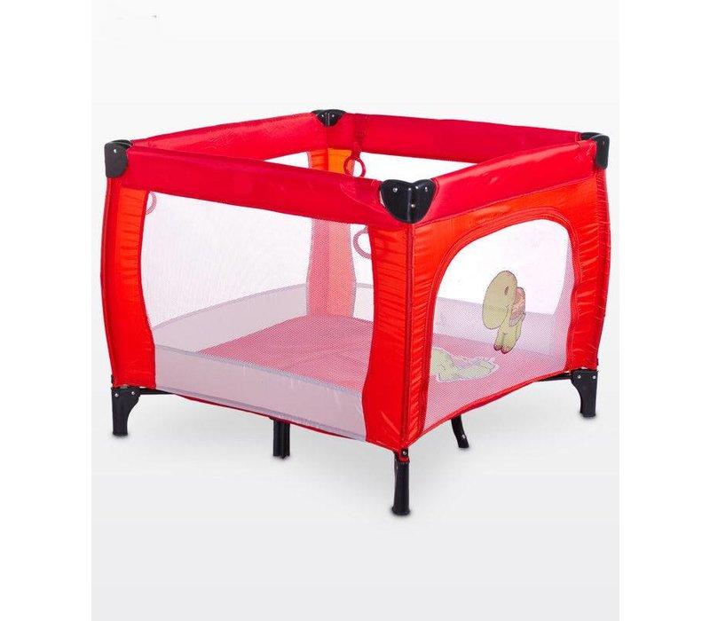 Baby box Dieren rood