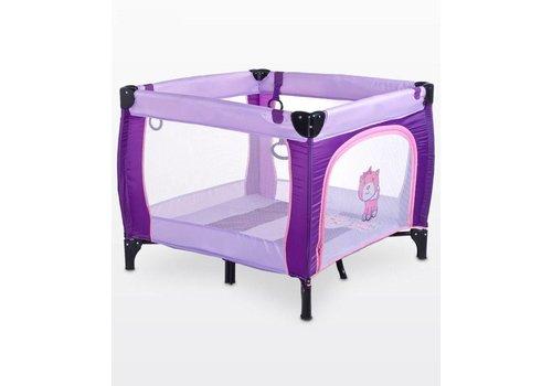 Baby box Dieren lila