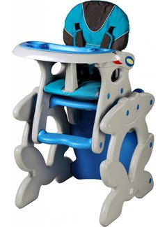 Kinderstoel Primus blauw