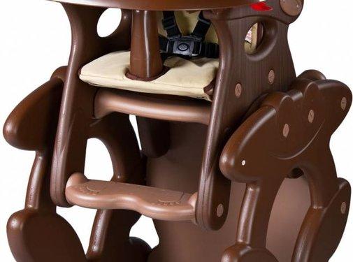 Kinderstoel Primus bruin