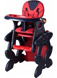 Kinderstoel Primus rood