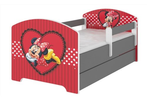 Compleet Disney kinderbed met lade & gratis matras - Minnie Mouse