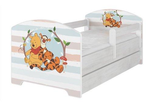 Compleet Disney kinderbed met lade & GRATIS matras - Winnie de Poeh en Tijgertje