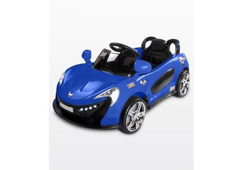 Elektrische kinderauto met accu - Aero blauw